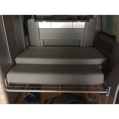 VW T5 California / Maßangefertigter Matratzenbezug für Komfortauflage (klappbar)