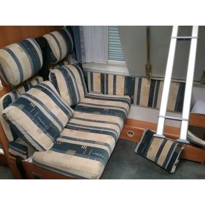 Wohnmobil Hymer B 514 / Maßangefertigter Rücksitzbezug