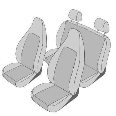 Renault Twingo III, ab Bj. 10/2014 - / Maßangefertigtes Komplettsetangebot