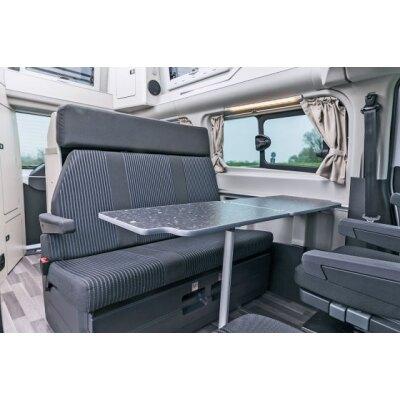 Ford Transit Nugget, ab Bj. 2013 - / Maßangefertigter Rücksitzbezug Dreierbank