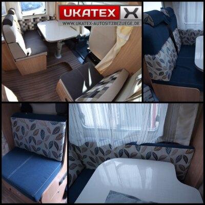 Wohnmobil Sunlight T69 / Maßangefertigter Rücksitzbezug (Sitzgruppe)