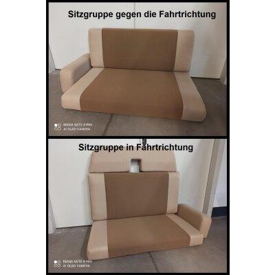 Wohnmobil Niesmann & Bischoff (Flair) / Maßangefertigte Rücksitzbezüge (Sitzgruppe 7-teilig)