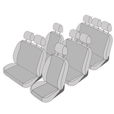 Nissan Primastar, Bj. 2001 - 2016 / Maßangefertigtes Komplettsetangebot 9-Sitzer