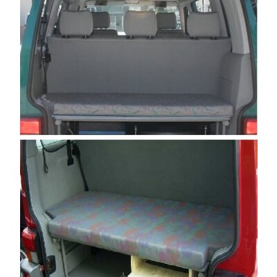 VW T4 Multivan I + II, Bj. 1991 - 2003 / Maßangefertigter Schlafmatratzenbezug
