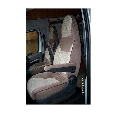 Fiat Pilotsitz (ohne Gurthalter), Bj. 05/2006 - 2014 Maßangefertigte Vordersitzbezüge für Wohnmobile