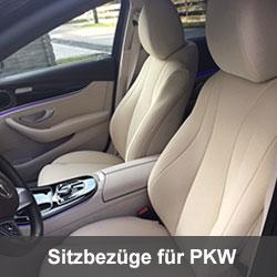 VW Passat B8 2014-2018 Maßgefertigte Kunstleder Sitzbezüge in Beige